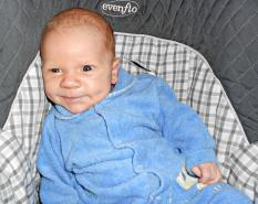 Today, Erroll is a happy, healthy baby who owes his life to the care he got at PRMC.