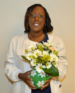 Michele McIntosh, RN, was honored with the DAISY Award at PRMC.