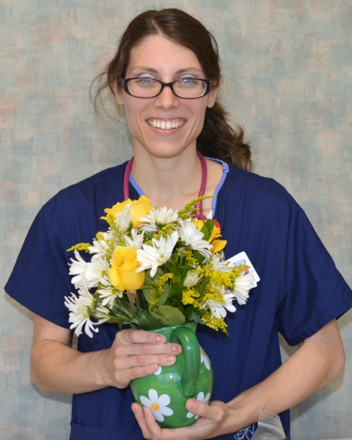 Sara Szczurko, RN, has won the Daisy Award at Peninsula Regional Medical Center.