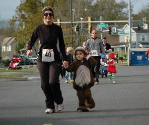 Son't forget to come in costume at this year's Sneakers & Creepers 5K at PRMC.